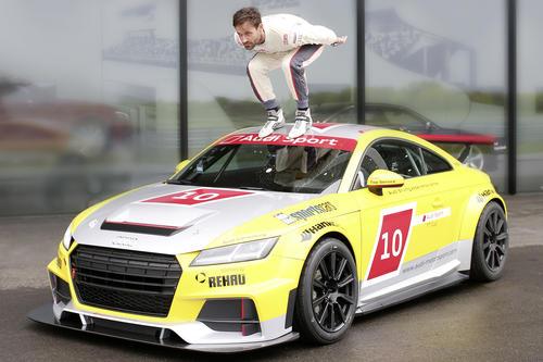 Sven Hannawald begeistert vom Audi Sport TT Cup