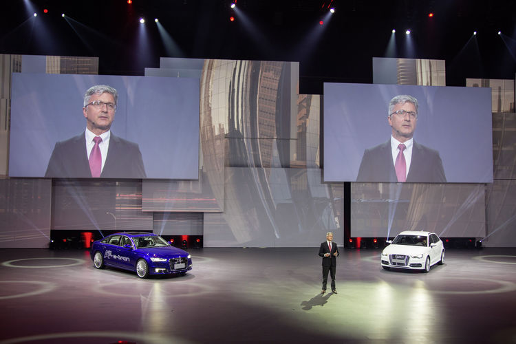 Audi bei der Volkswagen Group Night – Auto Shanghai 2015