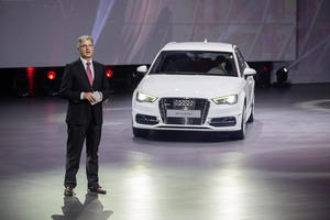 Audi at the Volkswagen Group Night – 2015 Auto Shanghai