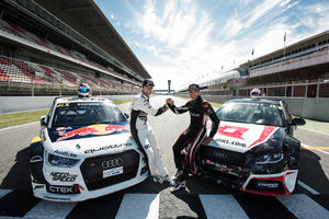 DTM stars at FIA World Rallycross Championship, Barcelona