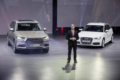 Audi bei der Volkswagen Group Night – Auto Shanghai 2015
