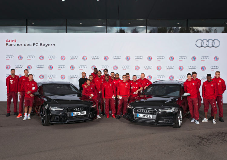 New Audi models for FC Bayern