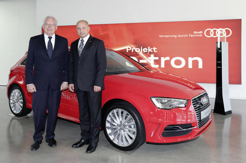 """Hands-on experience of the mobility of the future: Audi with new projects in """"Electric Mobility Showcase"""""""