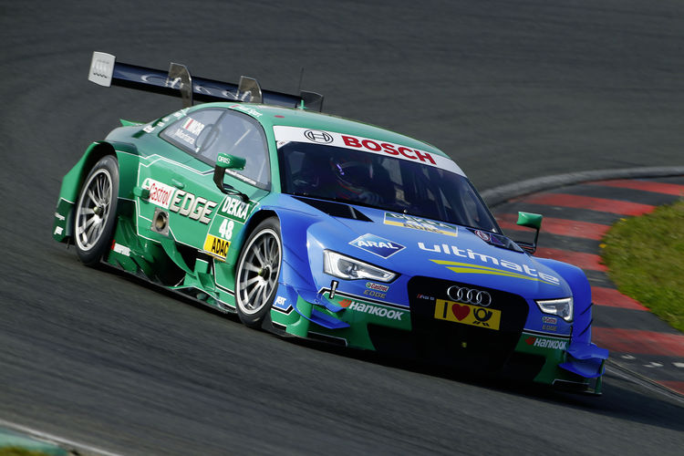 Audi before thriling 2015 DTM season