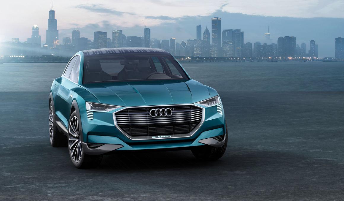 Sonderaktionen - IAA Showcar: Audi e-tron quattro concept