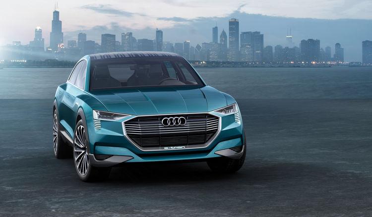 IAA Showcar: Audi e-tron quattro concept