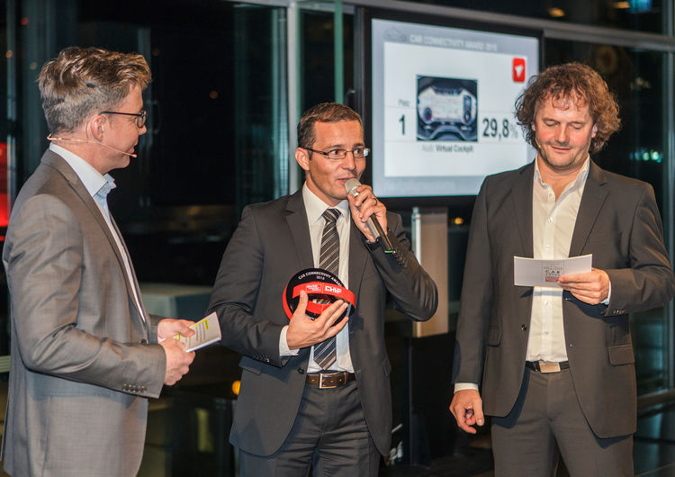 Car Connectivity Award: vier Siege für Audi