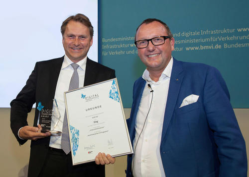 Audi gewinnt Digital Transformation Award