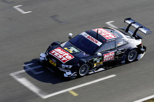 Audi before thriling 2015 DTM season