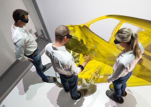 Audi tests gesture control for virtual assembly
