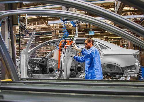 Audi production in Brazil
