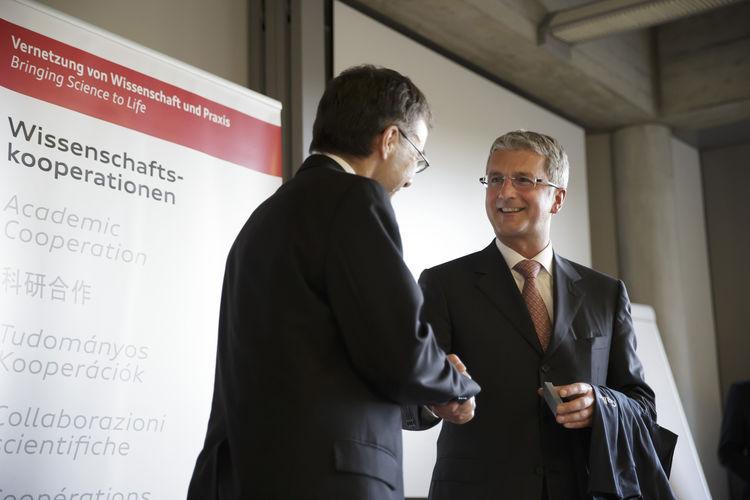 Audi vereinbart Kooperation mit Universität St.Gallen