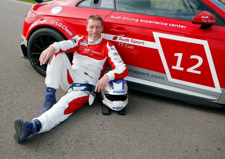 Audi Sport TT Cup VIP Test Neuburg (Guest drivers TT Cup Finale Hockenheim)