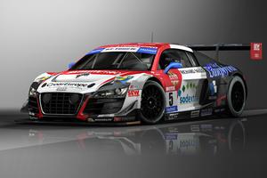 Vier Audi-Kundenteams in Frankreich