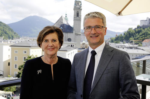 """""""Moving forward together"""": Audi continues its involvement with the Salzburg Festival"""