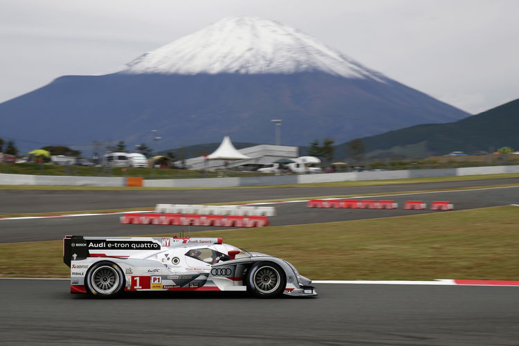 Audi on pole position for the fifth time