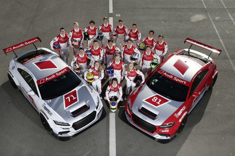 Audi Sport TT Cup starters