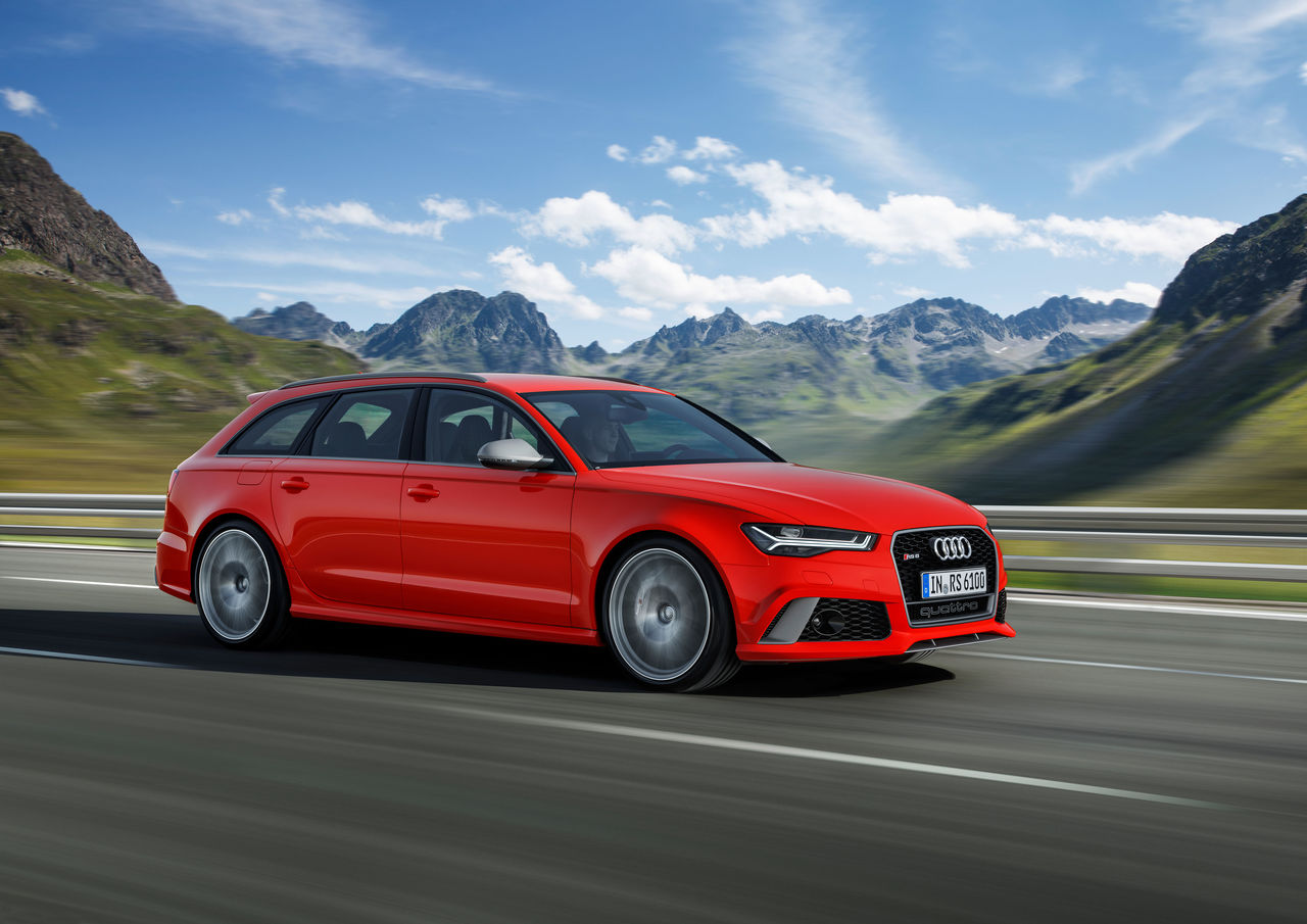 Plus performance: the new Audi RS 6 Avant performance and RS