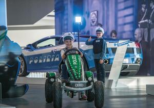 Kinderprogramm - Kinderfahrschule im Audi museum mobile