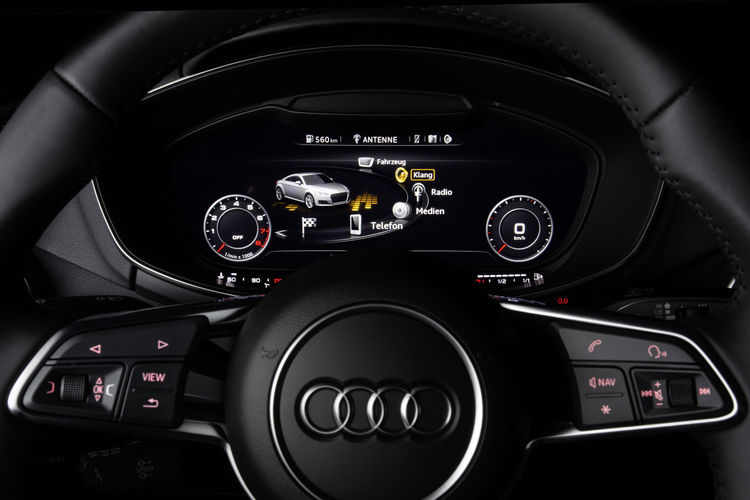 Sound taken to new dimensions in Audi TT
