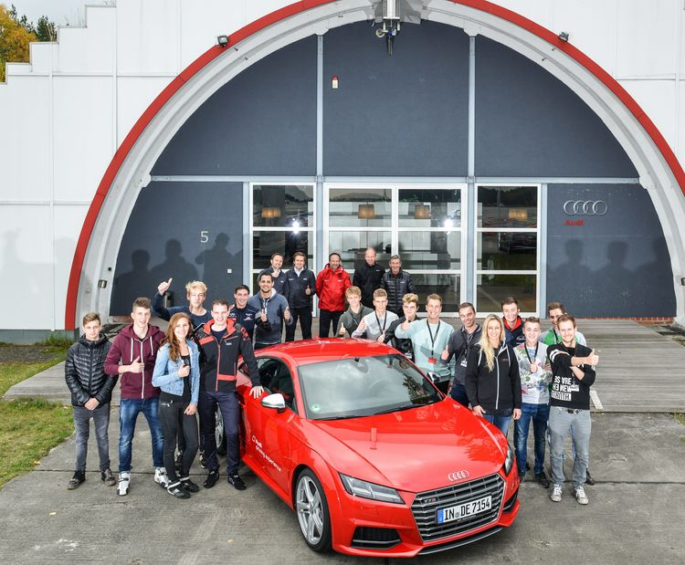 Audi Sport TT Cup driver evaluation Groß Dölln