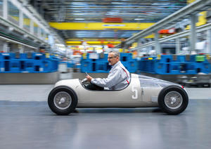 "Audi Toolmaking prints ""Auto Union Typ C"""