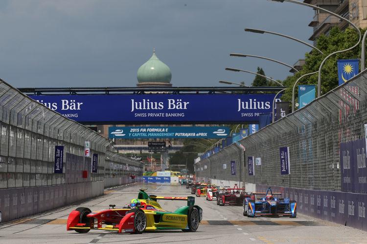 Lucas di Grassi wins Formula E race at Malaysia