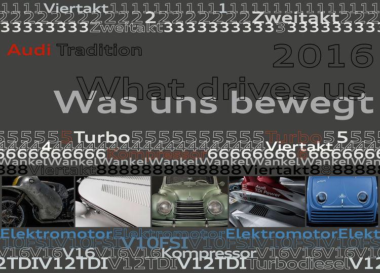 Der neue Kalender von Audi Tradition