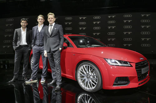 Bühne frei für den neuen Audi TT