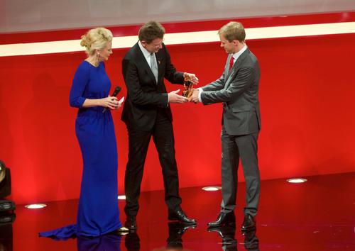 Mattias Ekström attends Golden Lenkrad