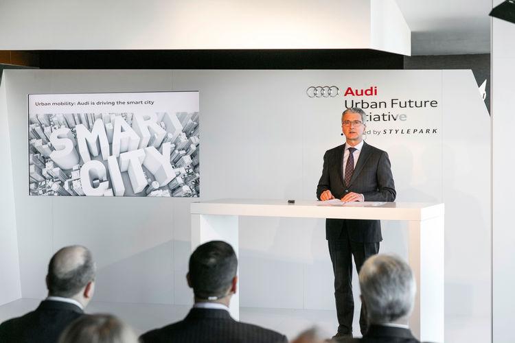 Audi führt pilotiertes Parken im Raum Boston ein