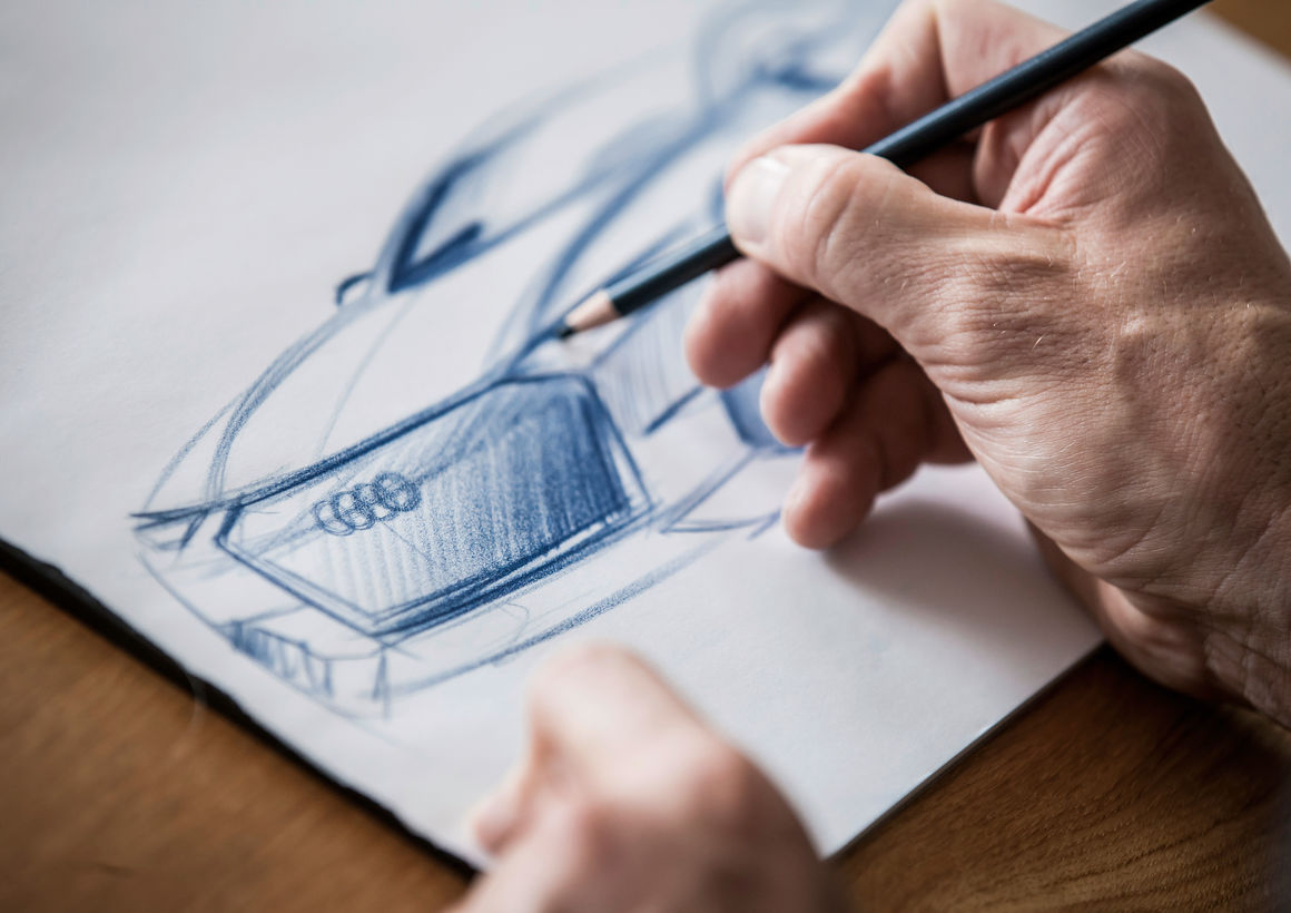 Audi prologue – Design Sketch