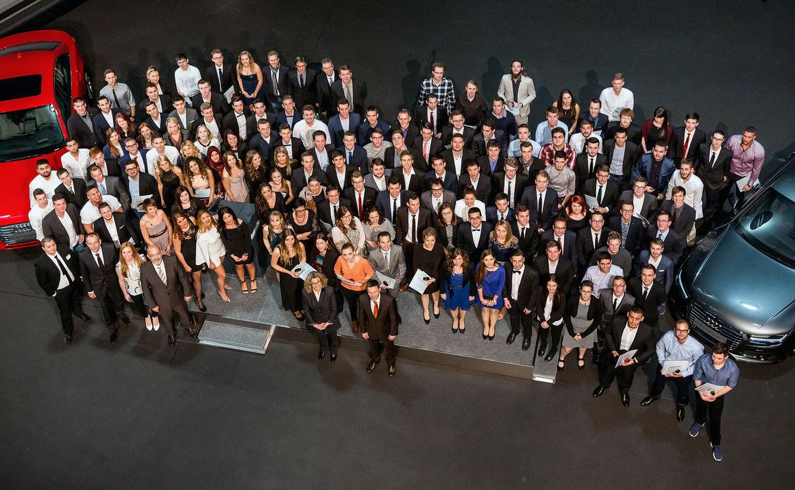 Audi Neckarsulm übernimmt 161 Auszubildende und Studierende