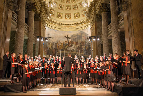 Audi Jugendchorakademie führt J.S. Bachs h-Moll-Messe auf