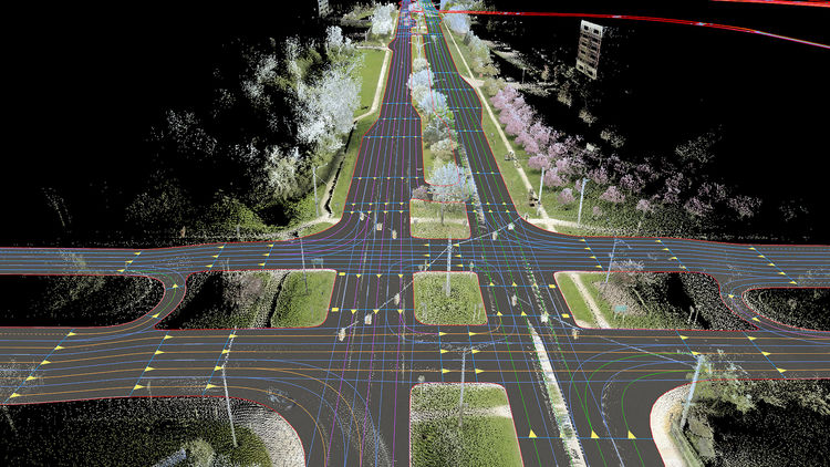 The future is HERE: Tomorrow's mobility begins with real-time digital maps