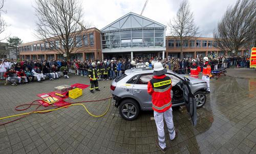"""""""Disco-Fieber"""": Unfallprävention bei Audi"""