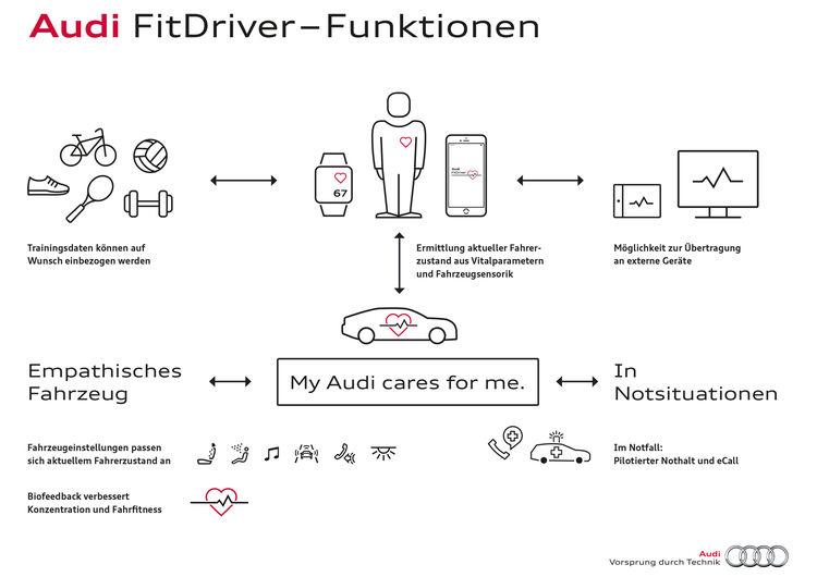 Audi FitDriver - Funktionen