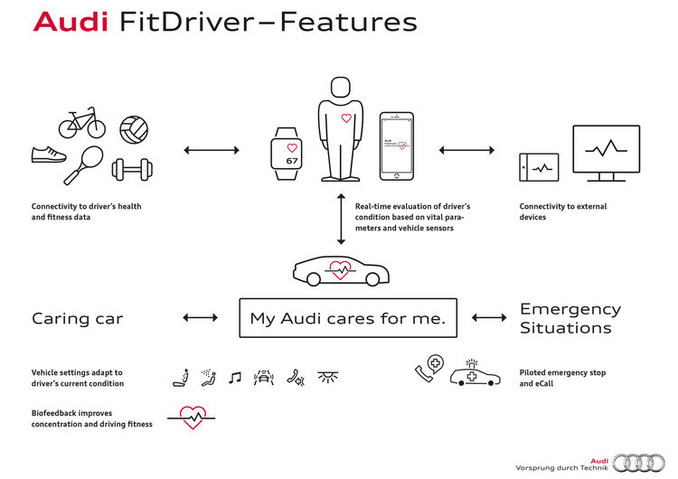 Audi FitDriver - Features