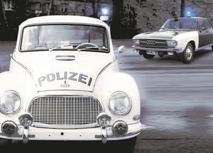 Sonderausstellung: Razzia – Historische Polizeiautos im Audi museum mobile