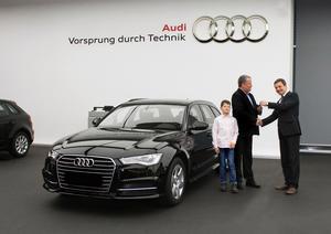 250.000 Neuwagenabholungen  im Audi Forum Neckarsulm