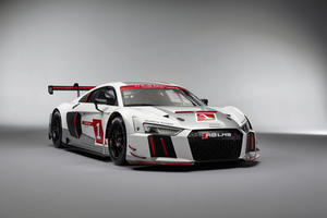 Audi before race debut of the Audi R8 LMS and first 24-hour races of the GT season