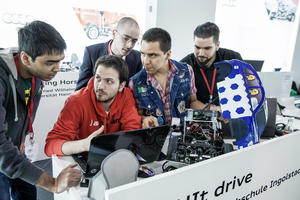 Technical University of Munich students  win first Audi Autonomous Driving Cup