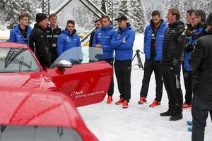 Audi macht die Schanzer fit für den Winter