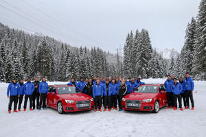 Audi makes Schanzer team fit for winter