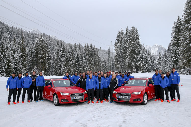 Audi makes Schanzer team fit for winter