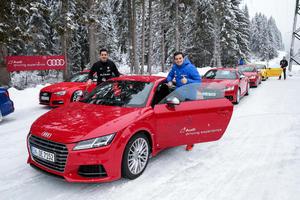 """Audi macht die """"Schanzer"""" fit für den Winter"""