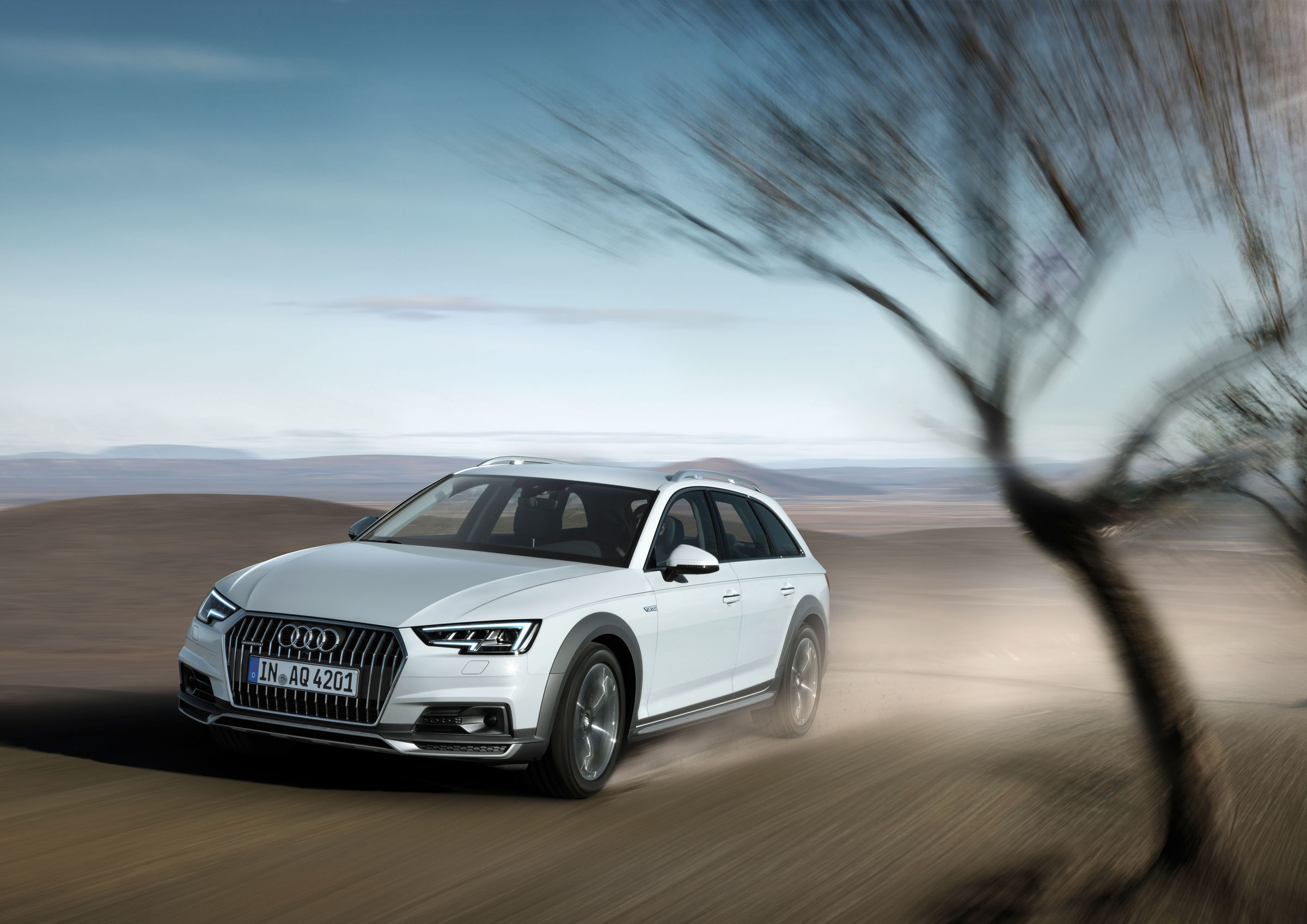 The New Audi A4 Allroad Quattro All Round Car With Offroad
