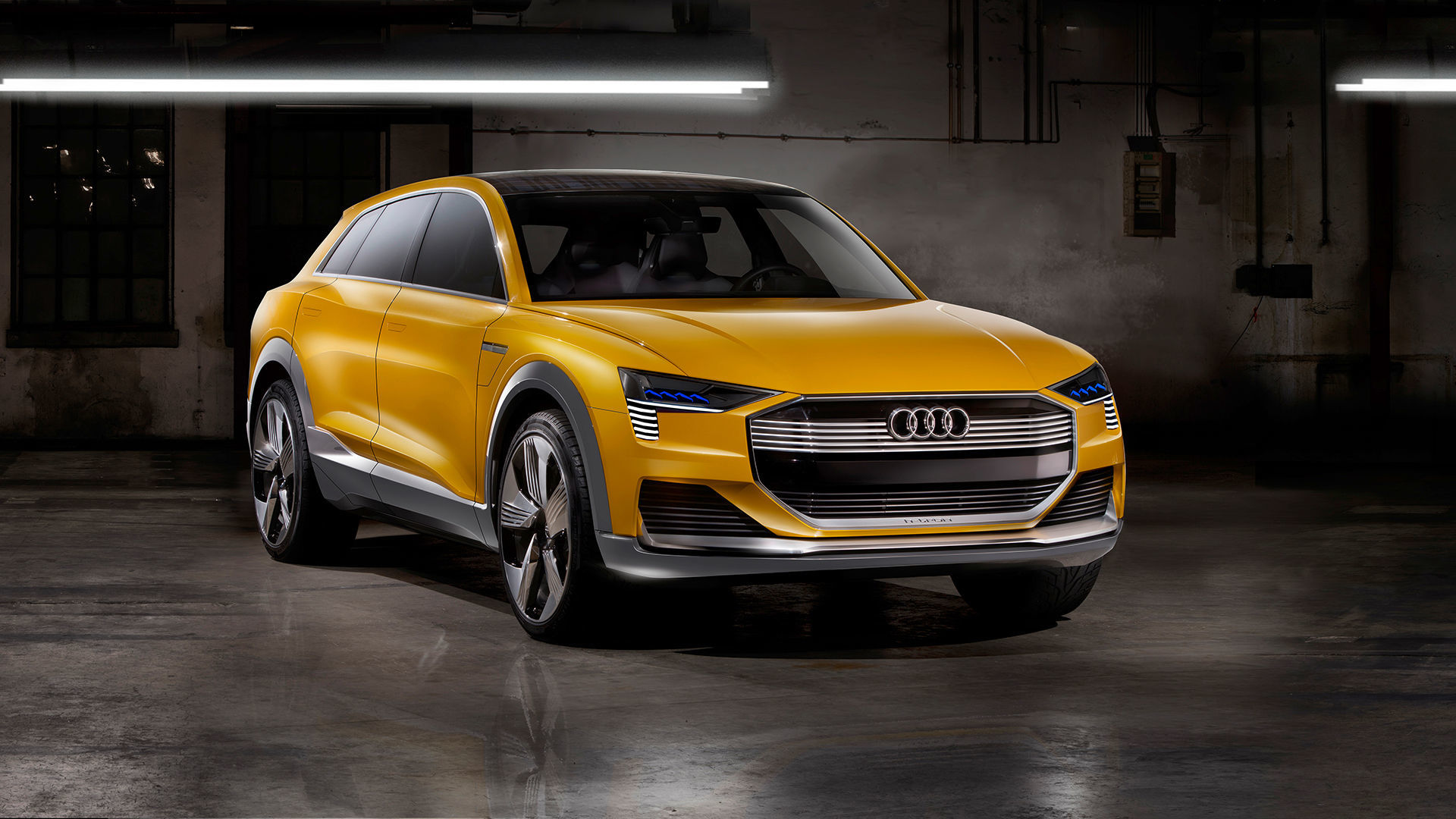 Toyota Company Latest Models >> The Audi h-tron quattro concept | Audi MediaCenter