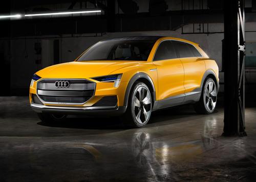 Audi h-tron quattro concept