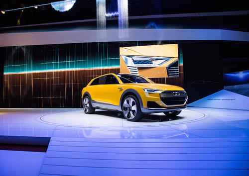 Audi auf der North American Auto Show 2016 in Detroit